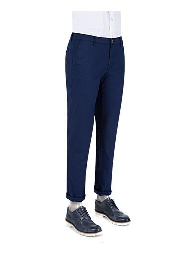 D'S Damat D'S Damat Slim Fit Chino Erkek Casual Pantolon Lacivert